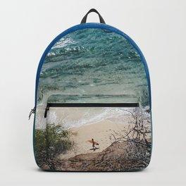 Surfer meets Sea - Diamond Head / Oahu / Hawaii Backpack