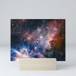 Carina Nebula's Hidden Secrets Mini Art Print