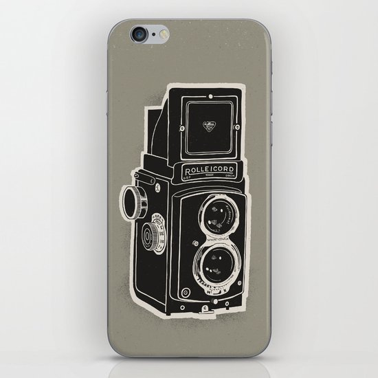 Rolleicord iPhone & iPod Skin