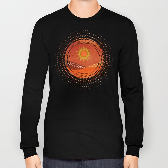 Color/Landscape 7 Long Sleeve T-shirt