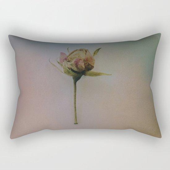 Once Upon a Time a Dancer Rose Rectangular Pillow