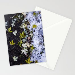 Fall Meets Winter Stationery Cards