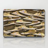 shoe iPad Cases featuring Shoe Art by SotirisFilippou_Photography