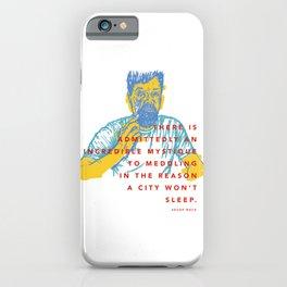 Aesop Rock iPhone Case
