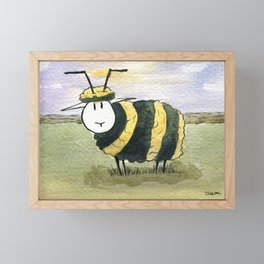 Beep Framed Mini Art Print