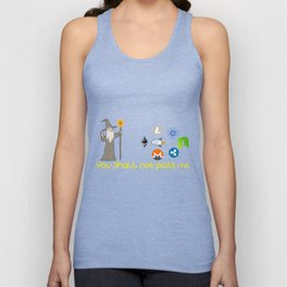 You shall not pass Unisex Tank Top