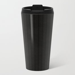 Antiallergenic Hand Knitted Black Wool Pattern - Mix&Match with Simplicty of life Travel Mug