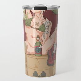 Tank Girl smells like toxic waste Travel Mug