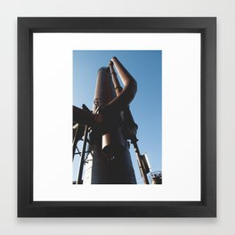 Gas Works Framed Art Print