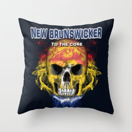 To The Core Collection: New Brunswick Throw Pillow