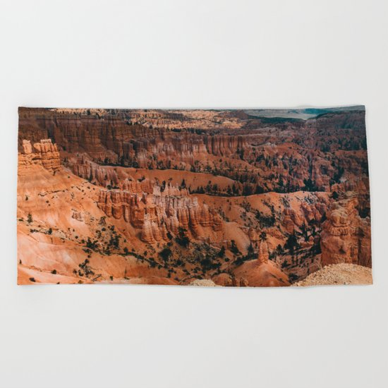 Canyon canyon Beach Towel