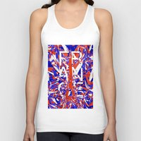 france Tank Tops featuring France by Danny Ivan