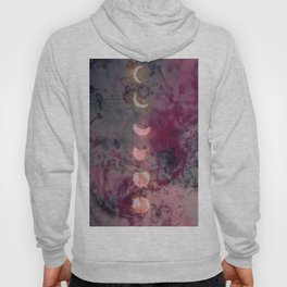 Lunar phase color Hoody