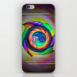 Abstract in perfection 121 iPhone Skin