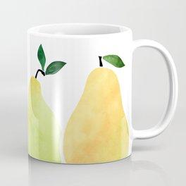 Fresh Pears Coffee Mug