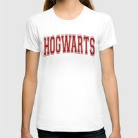 hogwarts T-shirts featuring Hogwarts  by DTbase+