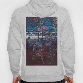 Wassily Kandinsky Couple Riding Hoody