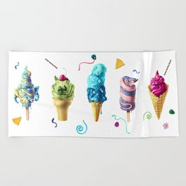 All Mutts Summer Flavours Beach Towel