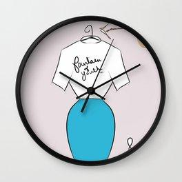 OOTD Wall Clock