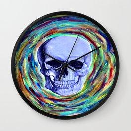 A Skull's Vortex Wall Clock
