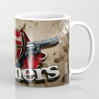 arsenal Mugs featuring ARSENAL by Acus