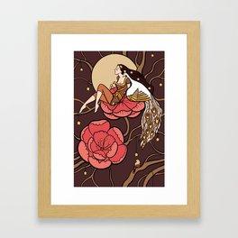 Botanical fantasy Framed Art Print