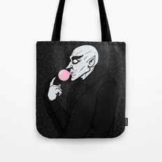 Popping Bubblegum Bubble  Tote Bag