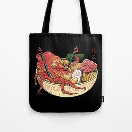 Tako Ramen Tote Bag