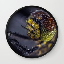 Dragonfly Selfie Wall Clock