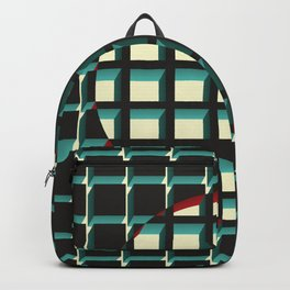 Red Exclusion Backpack