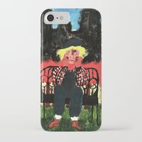 central park iPhone & iPod Cases featuring Central Park by Mile