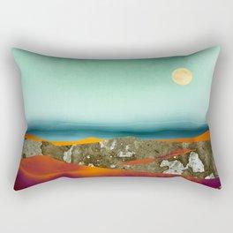 Desert Moon Rectangular Pillow