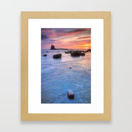 Blacknab Sunrise Framed Art Print