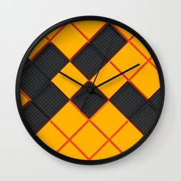 Square shapes Wall Clock
