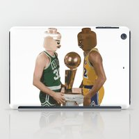 lakers iPad Cases featuring lego magic by tbdaniel15