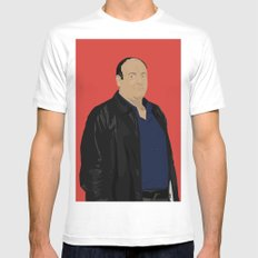 Sopranos - Tony Soprano - Paulie Gualtieri MEDIUM White Mens Fitted Tee