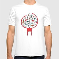 holding it all together Mens Fitted Tee White MEDIUM