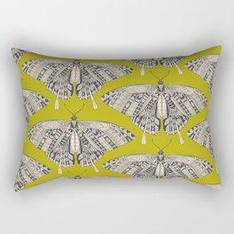 swallowtail butterfly citron basalt Rectangular Pillow