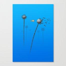 Little Mine Sweeper Canvas Print