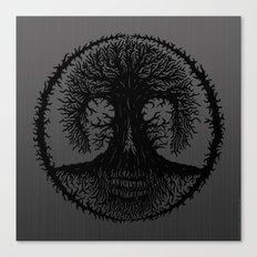 romkalah, black Canvas Print