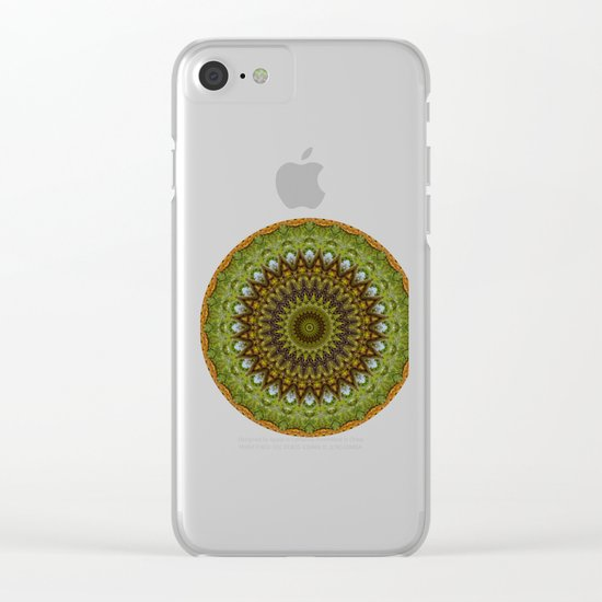 Kaleidoscope No. 6 - Green Clear iPhone Case