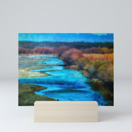 Monet's Rio Las Cruces New Mexico Mini Art Print