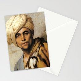 "Jean-Léon Gérôme ""The pelt merchant,Cairo"" Stationery Cards"