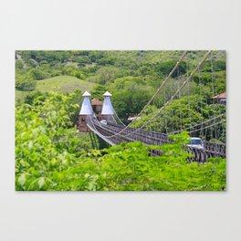 Puente de Occidente (Western Bridge) Canvas Print