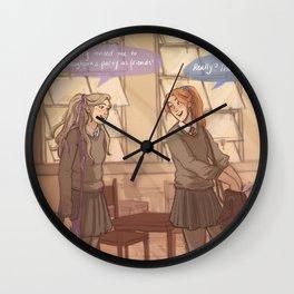 ginny and luna Wall Clock