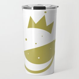 Self-Care Queen - Gold Travel Mug