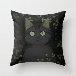 A warrior cat Throw Pillow