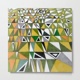 Tetris n. 4 Metal Print