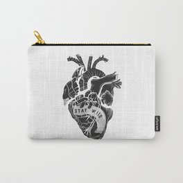 Heart (stay wild) Carry-All Pouch