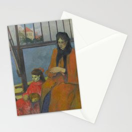 Paul Gauguin - Schuffenecker's Studio (1889) Stationery Cards